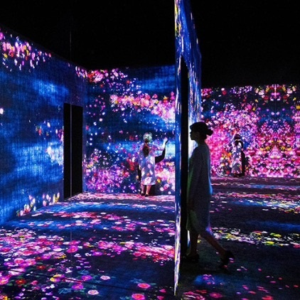 WHEN NATURE MEETS DIGITAL ART: DISCOVER TEAMLAB